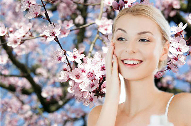 картинки уход за кожей лица весной речь пойдет