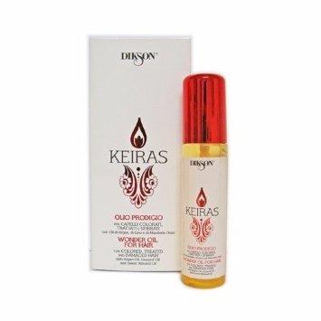 Комплекс для волос с маслами Арганы, Льна и сладкого Миндаля 60 мл KEIRAS OLIO PRODIGIO Dikson / Диксон
