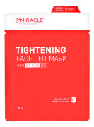 Маска для лица подтягивающая 1 шт S+miracle Tightening Face-Fit Mask / LS Cosmetic Co