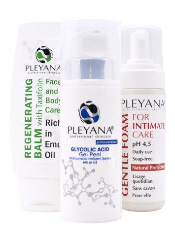 Комплекс Home Skin Care Set  #7 INTIM-SHINE  PLEYANA® / ПЛЕЯНА