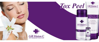 Набор для пилинга 15 мл + 10 мл + 15 мл Trial Kit TOX PEEL CELL FUSION C / Селл Фьюжн Си