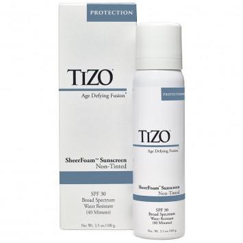Спрей солнцезащитный для лица и тела 100 гр SheerFoam Sunscreen SPF 30 Non-Tinted TiZO / Тизо