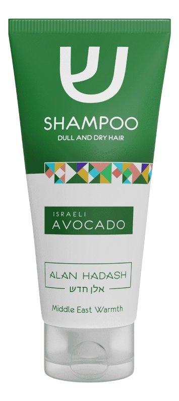 Шампунь для тусклых, сухих волос 200 мл Israeli Avocado Alan Hadash / Алан Хадаш