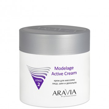 Крем для массажа Modelage Active Cream, 300 мл. / Aravia