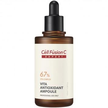 Сыворотка антиоксидантная для любого типа кожи с 67% vita комплекса 100 мл Vita Antioxidant Ampoule Cell Fusion C / Селл Фьюжн Си