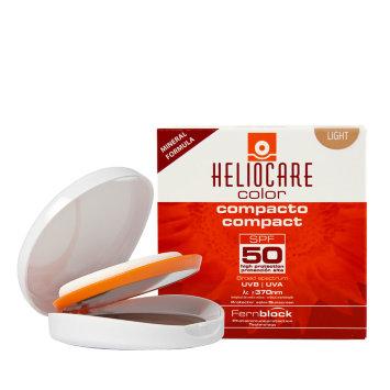 Крем-пудра минеральная для сухой и нормальной кожи SPF 50, 10 гр HELIOCARE Mineral Cantabria Labs / Кантабрия Лабс