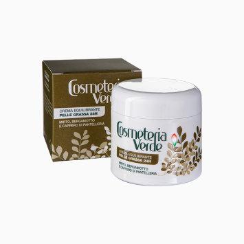 Крем Баланс 24 часа для жирной кожи 50 мл CREMA EQUILIBRANTE PELLE GRASSA 24H / Cosmeteria Verde