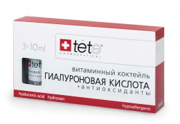 Гиалуроновая кислота + Антиоксиданты 3 X 10 мл |TETe Cosmeceutical  / Hyaluronic Acid & Antioxidants/ (Vit.C)
