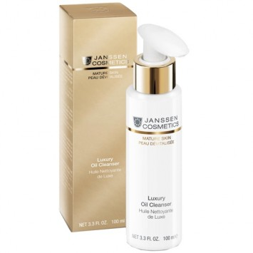 Роскошное очищающее масло для лица 100 мл Luxury Oil Cleanser Janssen Cosmetics / Янсен Косметикс