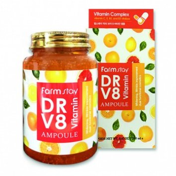 Ампульная сыворотка с витаминами, 250 мл, DR-V8 VITAMIN AMPOULE / Farmstay