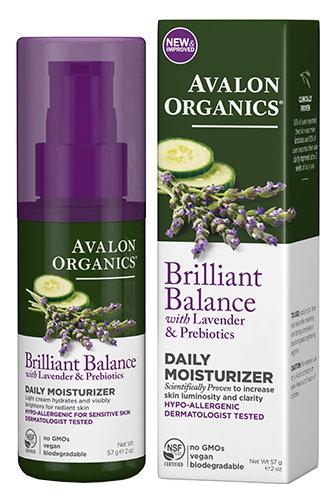 Дневной увлажняющий крем с лавандой  57 гр Daily Moisturizer Avalon Organics / Авалон Органикс