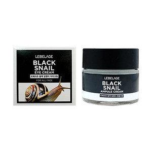 Крем для глаз с муцином чёрной улитки, 70 мл, Eye Cream Black Snail / Lebelage