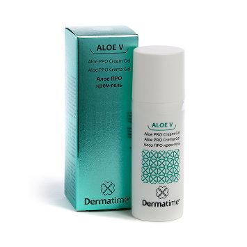 Алоэ про крем-гель 50 мл ALOE V Aloe Pro Cream-Gel Dermatime / Дерматайм