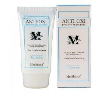 Интенсивно увлажняющий крем для жирной кожи 70 мл, 1000 мл Anti-Oxi Intensive Moisturizer for Oil Skin Mediblock / Медиблок