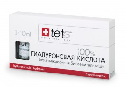 Гиалуроновая кислота 100% 3 Х 10 мл Pure Hyaluronic acid / TETe Cosmeceutical