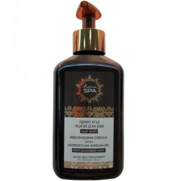 Крем для волос восстанавливающий с маслом марокканского аргана 250 мл Moroccan SPA / Shemen Amour