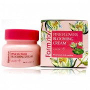 Крем для лица с экстрактом лотоса 100 мл Pink flower blooming cream pink lotus / Farmstay