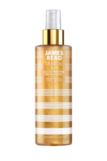 Спрей для тела H2O ILLUMINATING BODY MIST 200мл /  JAMES READ