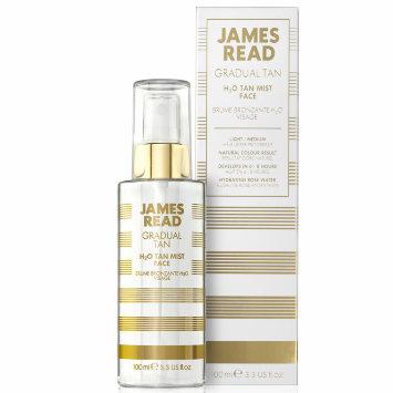 Спрей для лица - освежающее сияние H2O TAN MIST FACE 100мл / JAMES READ