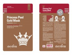 Шелковая маска 25 гр Princess Peel Gold Mask / Storyderm