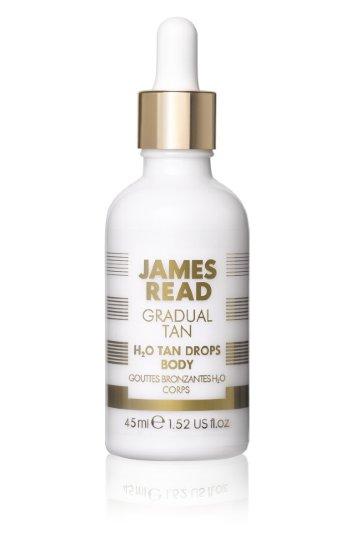 Капли-концентрат для тела/H2O TAN DROPS BODY 45мл / JAMES READ
