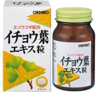 БАД Экстракт Гинкго билоба + элеутерококк, 240 таблеток / ORIHIRO