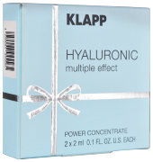 Концентрат 2х2мл HYALURONIC Power Concentrate KLAPP Cosmetics / КЛАПП Косметикс