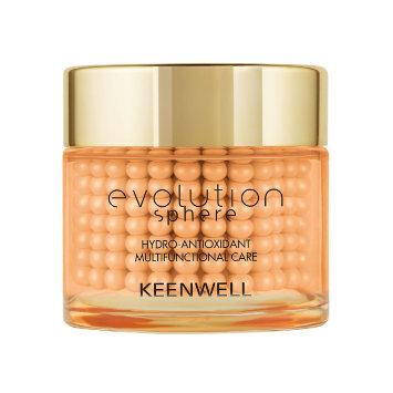 Увлажняющий антиоксидантный мультифункциональный комплекс, 80 мл Evolution Sphere Hydro-Antioxidant Multifunctional Care Keenwell / Кинвел