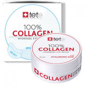 Гидроколлагеновые патчи для глаз с гиалуроновой кислотой 60 шт 100% Collagen Hydrogel  Eye Patch / TETe Cosmeceutical