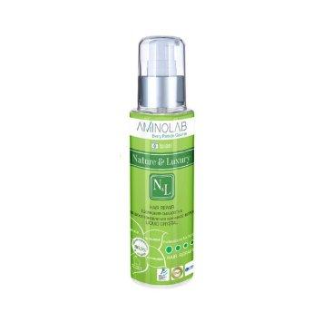 Шелковая сыворотка для восстановления кончиков волос, 110 мл LIQUID CRYSTAL Hair Repair / Nature & Luxury