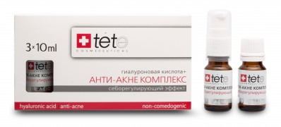 Гиалуроновая кислота + Анти-акне комплекс 3X10 мл | TETe Hyaluronic  Acid + Anti-Acne Complex