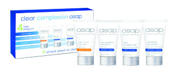 """Набор для лица """"Чистая кожа"""" 4 шт * 50 мл Clear Complexion asap Pack / ASAP"""