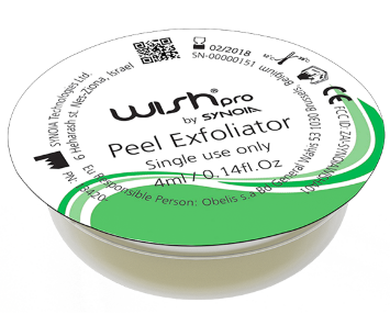 Сыворотка Эксфолиация в капсулах 1 шт Peel Exfoliator Serum Natural / WISHPro