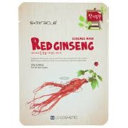 Маска для лица с экстрактом женьшеня 1 шт S+miracle Red Ginseng Essence Mask / LS Cosmetic Co