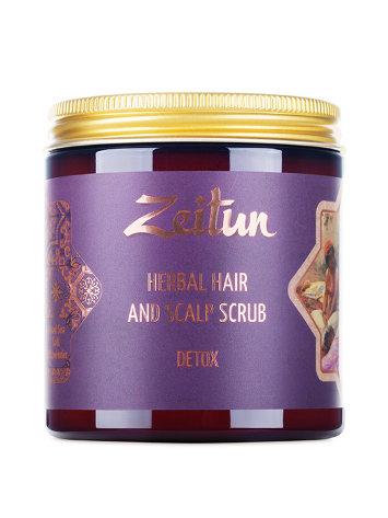 Скраб-маска для кожи головы и волос Детокс 250 мл Zeitun / Зейтун